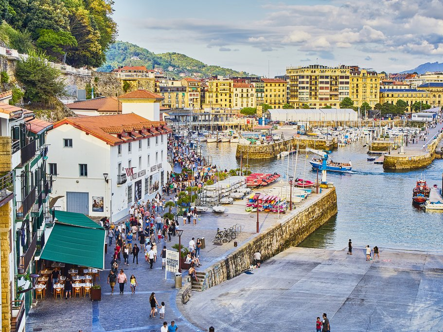 Waterfront in San Sebastian