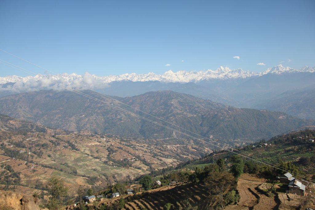 Jugal Himal in Helambu