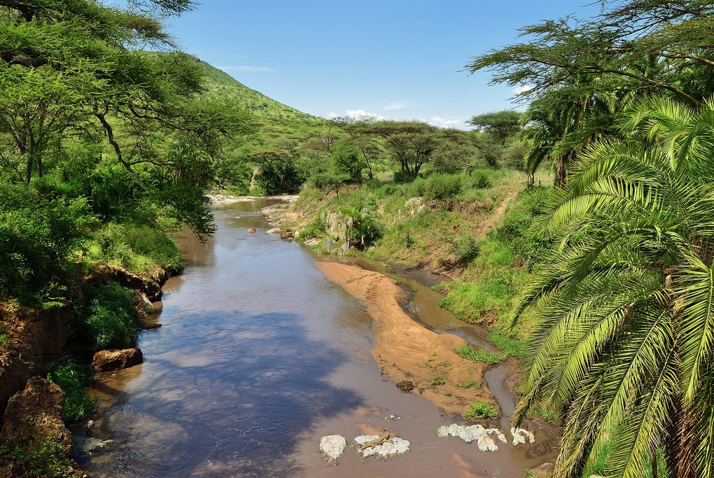 Seronera River at Serengeti National Park