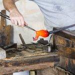 Glassmaker on Murano