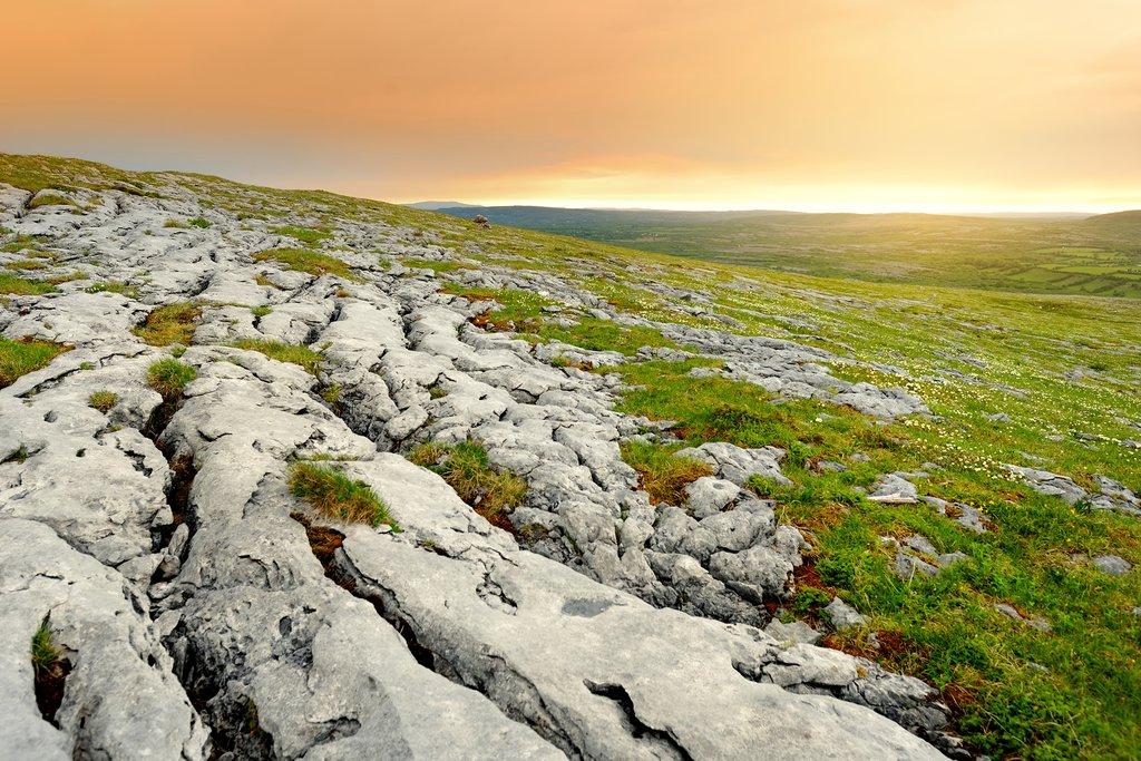Karst Limestone Landscape of the Burren