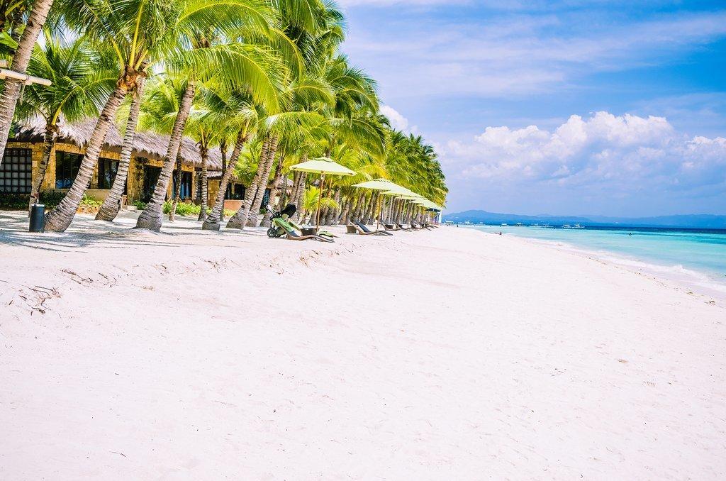 A beach on Panglao Island