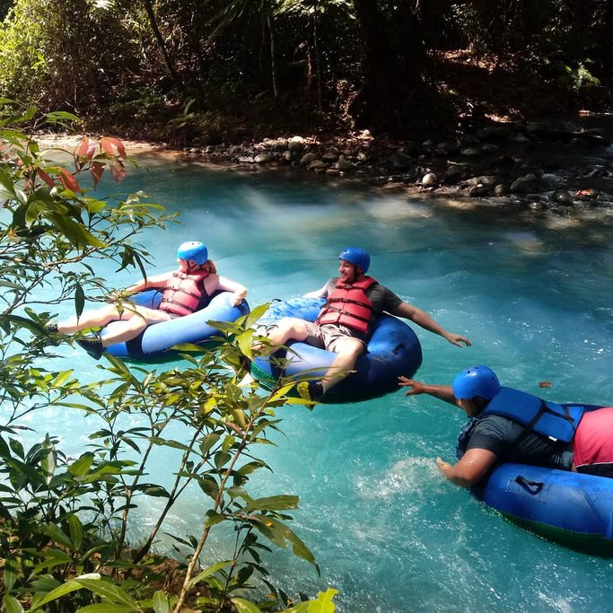 River Tubing Adventure on the Río Celeste