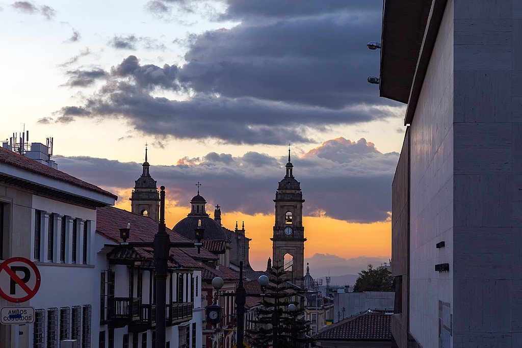Sunset in La Candelaria