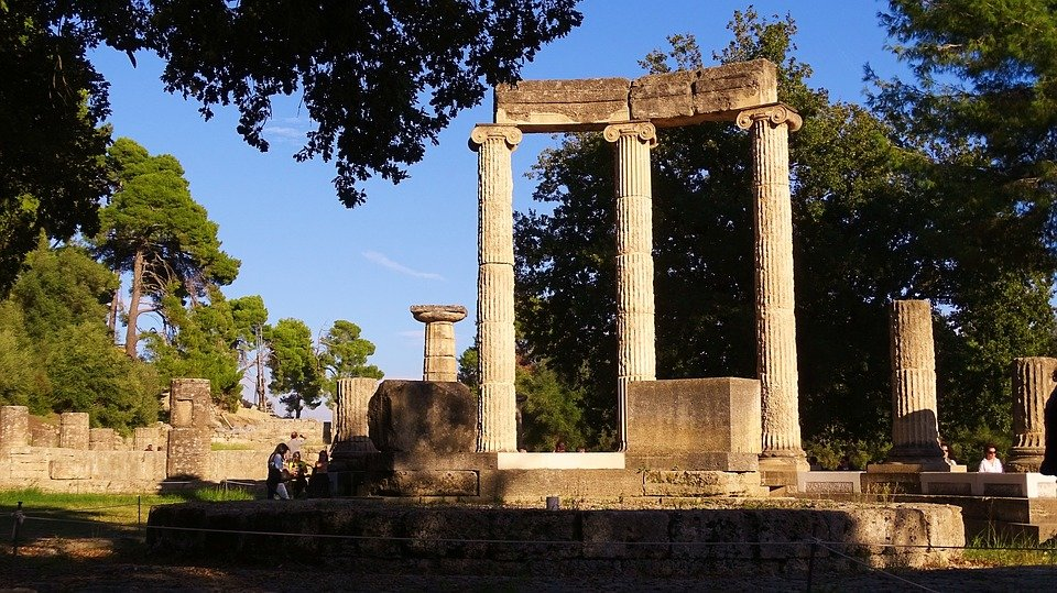 Ancient ruins in Olympia, Greece (Photo courtesy of Pixabay)