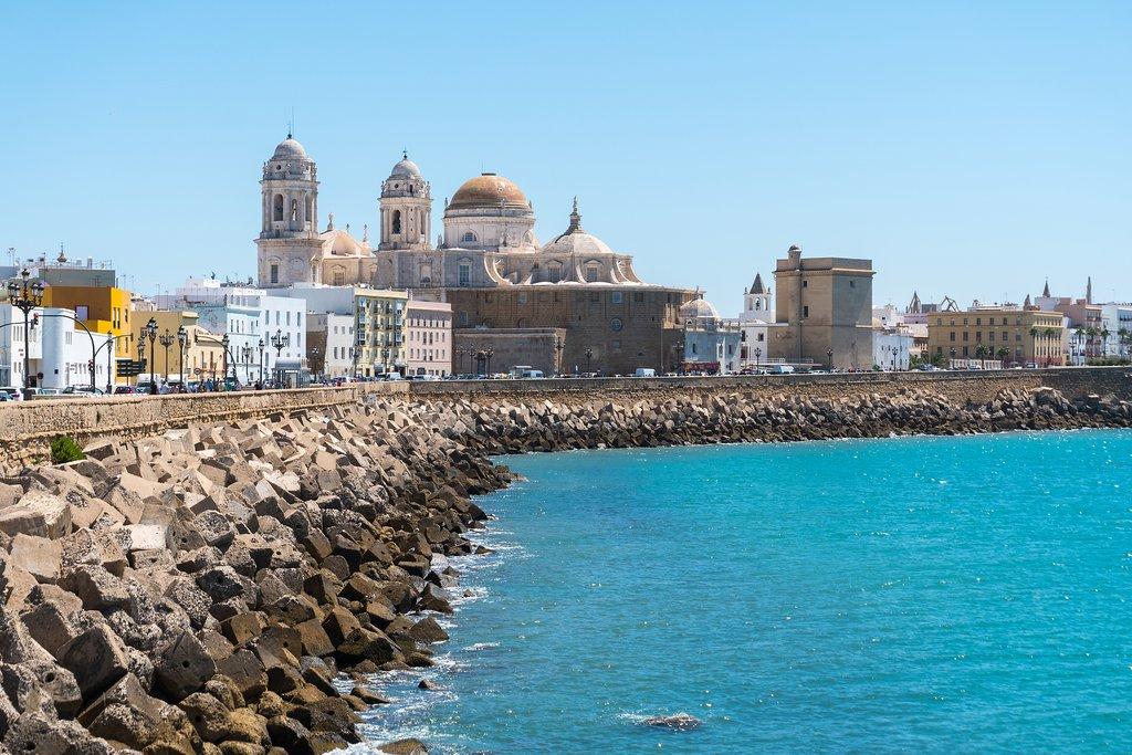 Cadiz, Spain coast