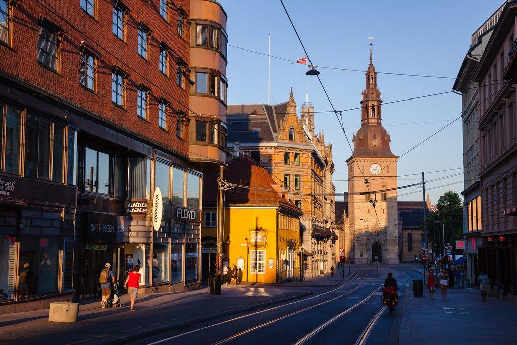 A street in Oslo