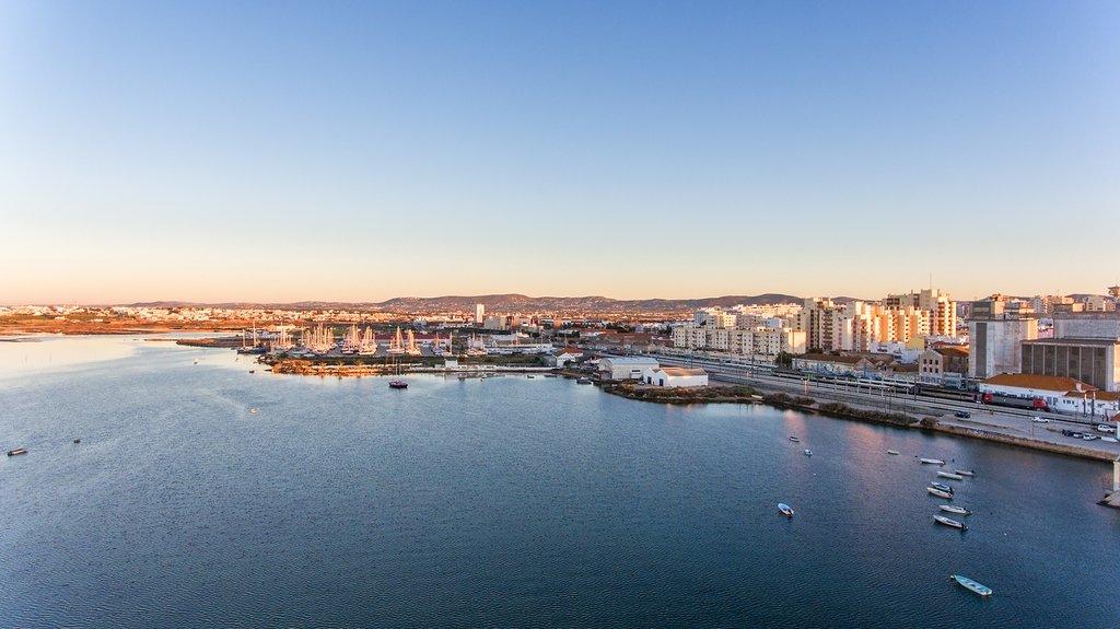 The Faro coastline