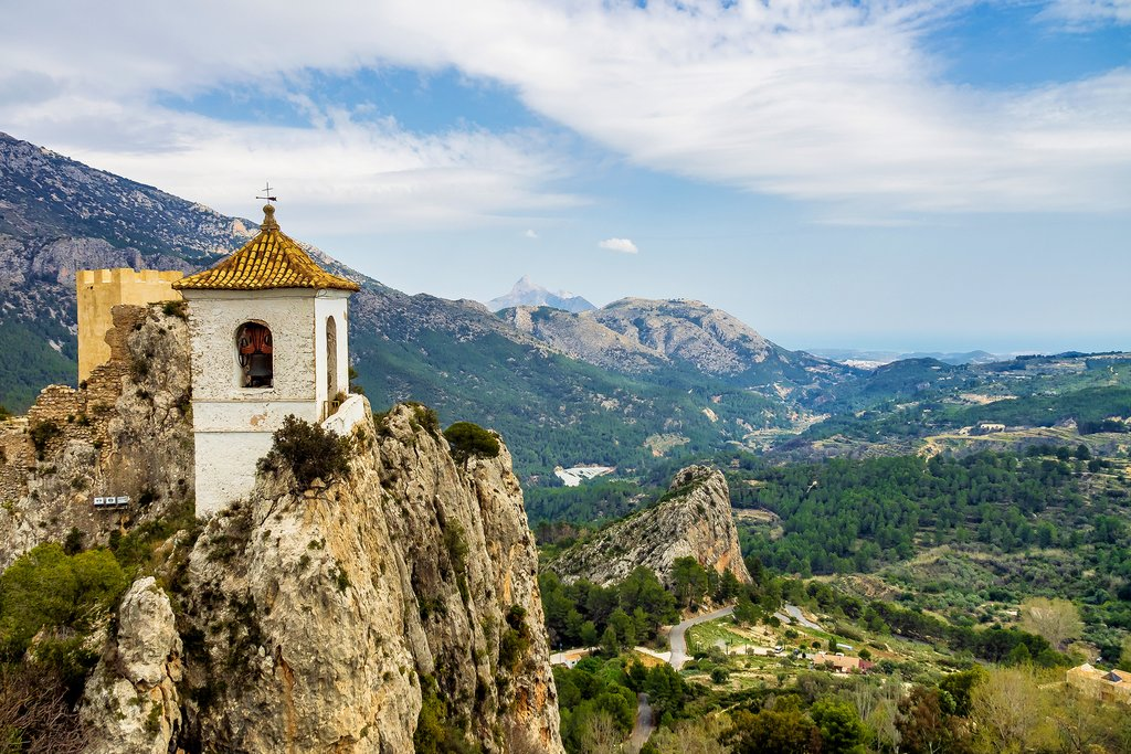 The Hilly Inland Village of Guadalest
