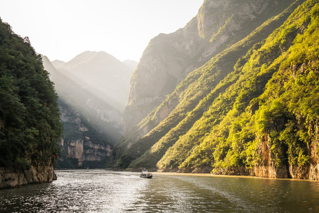 Scenery on the Yangtze River