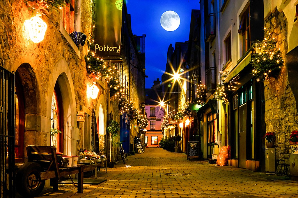 Galway by evening