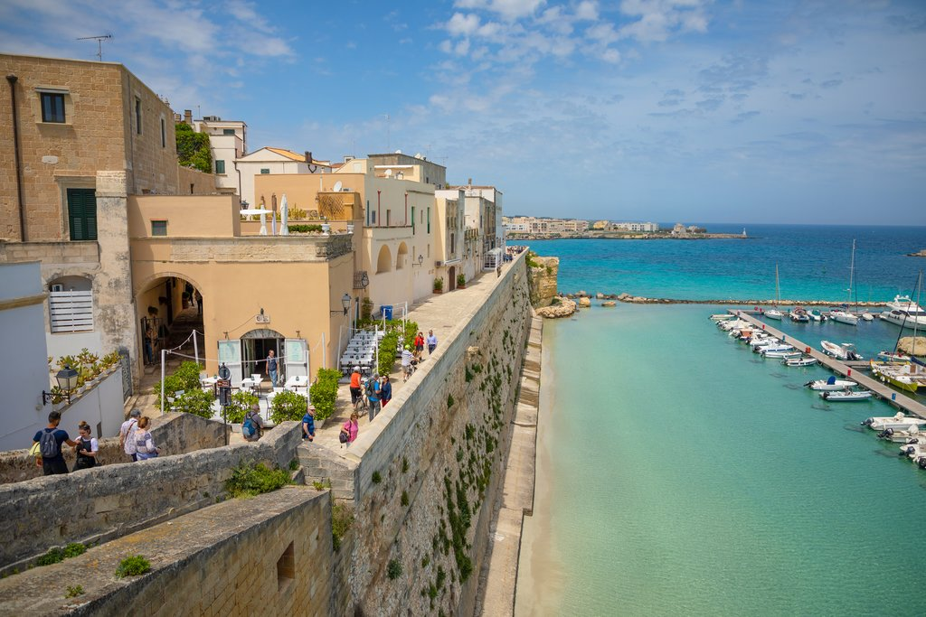 Otranto's sweeping ocean views