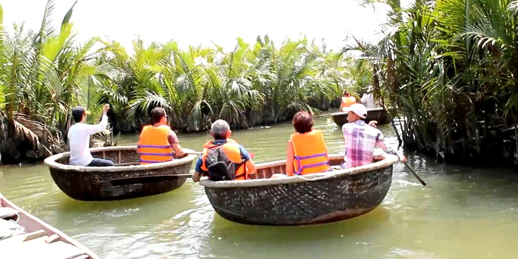 Traditional basket boats