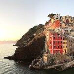 Sunset Boat Trip in Cinque Terre
