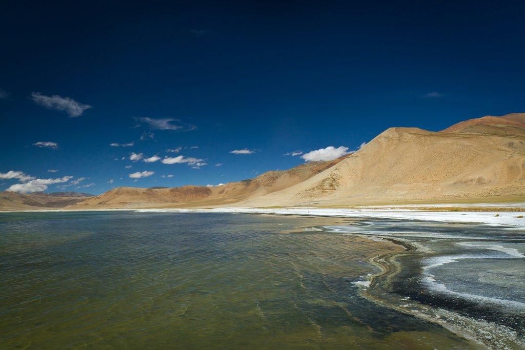 Tso Kar is a famous highland salt lake