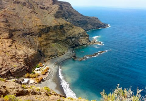 Rocky Coastlines of the Canary Islands