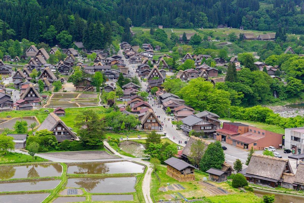 World Heritage Village in Ogi