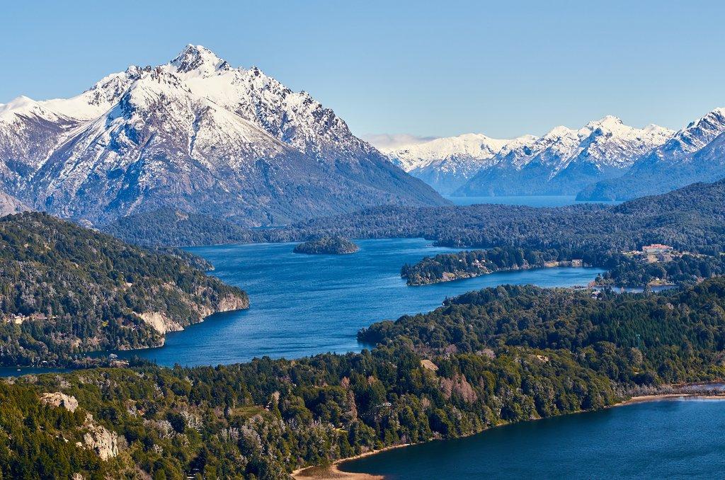 Bariloche sits on Lago Nahuel Huapi