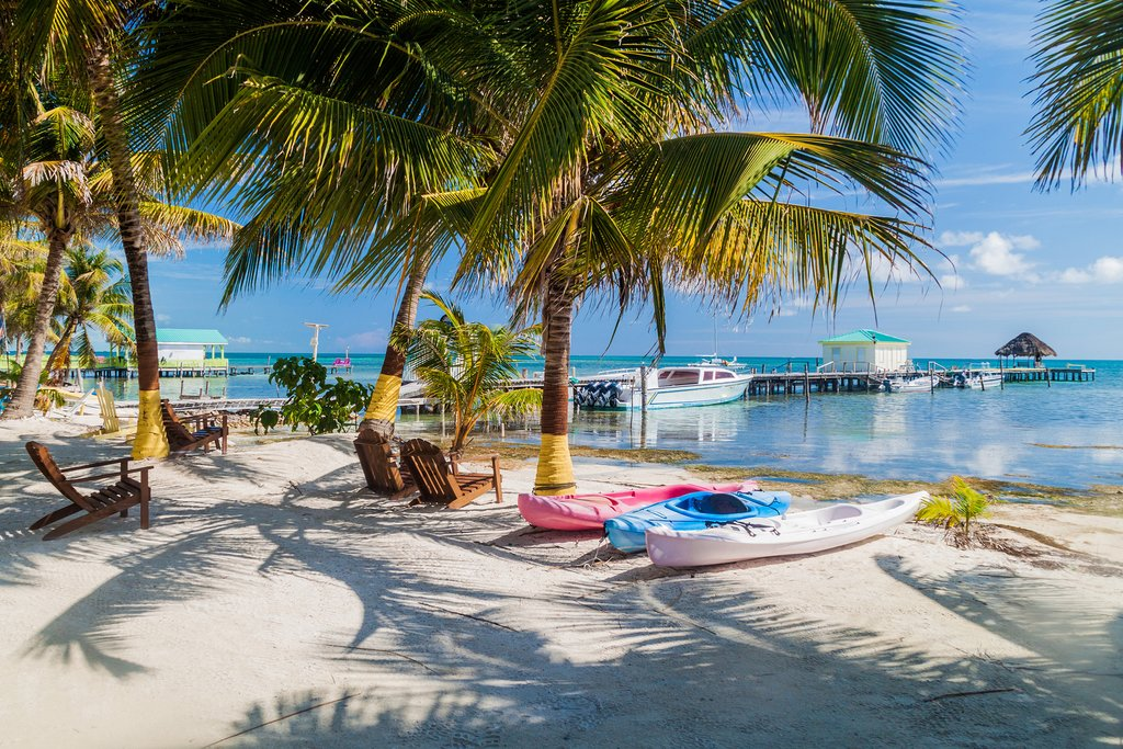 The Beaches of Caye Caulker