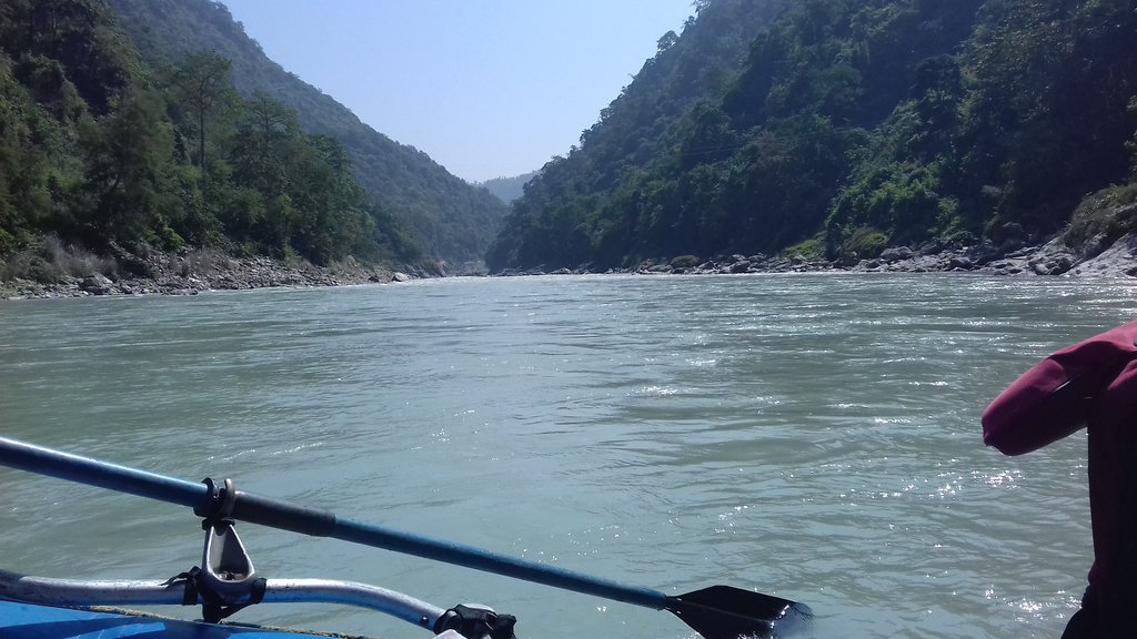 Paddling along the Lower Seti River