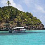 Providencia is home to the world's third-largest reef