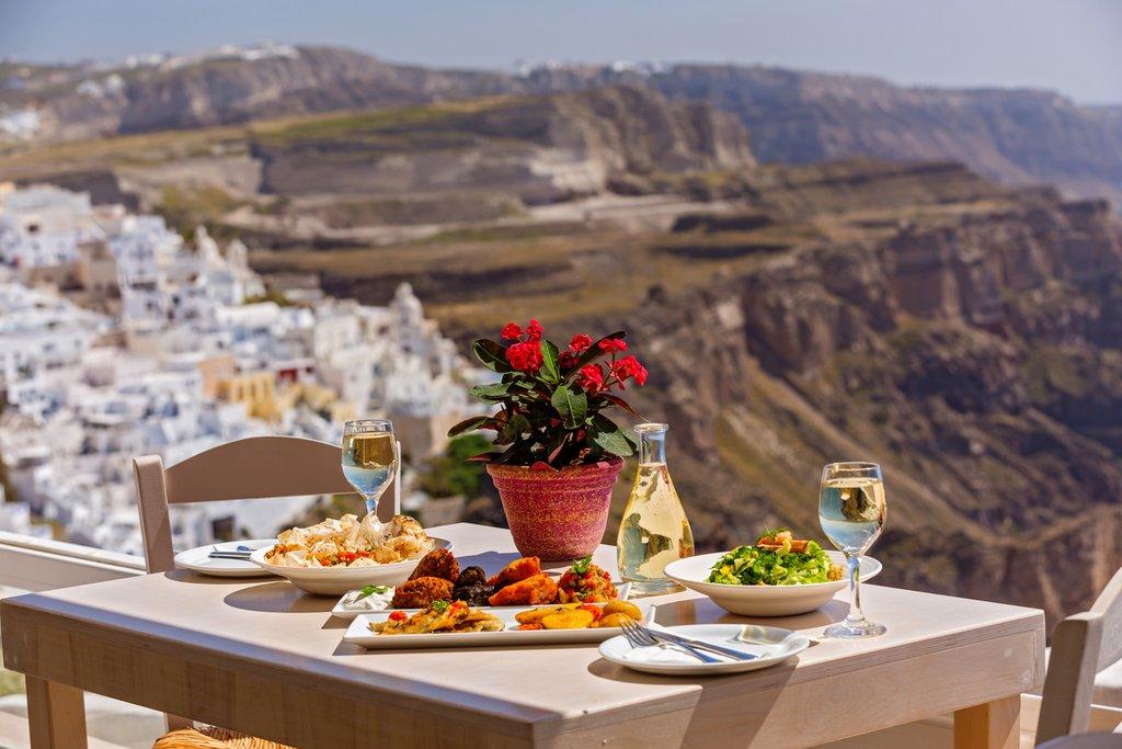 Eating like a local in Santorini