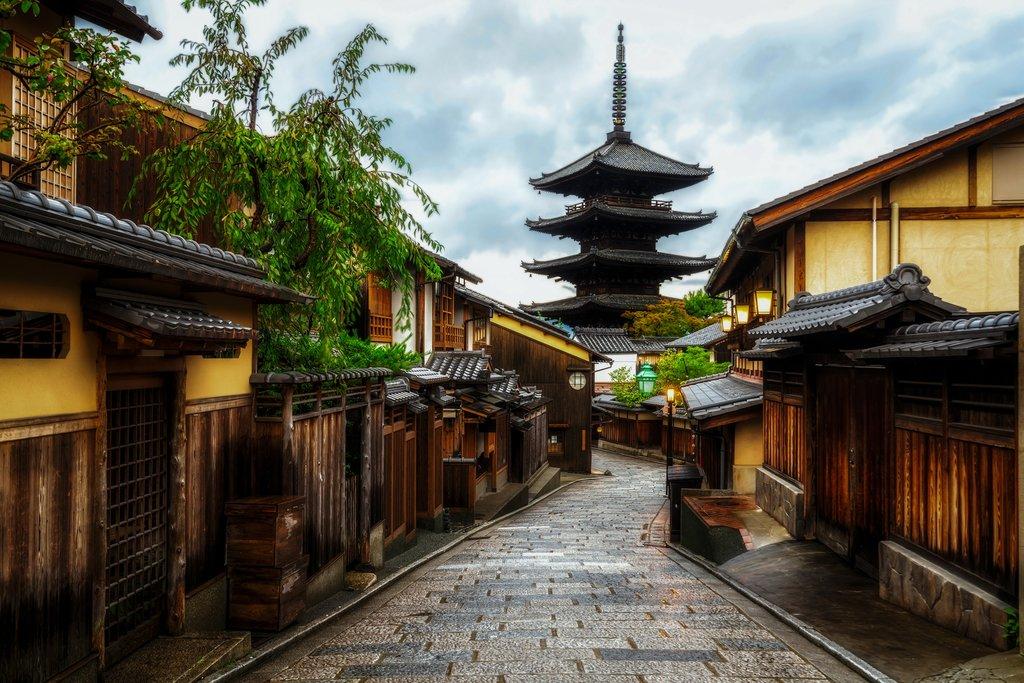 Sannen Zaka Street, Kyoto.