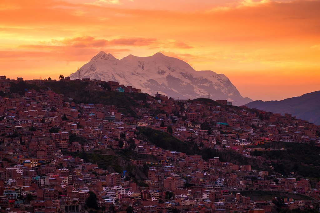 Sunrise in La Paz
