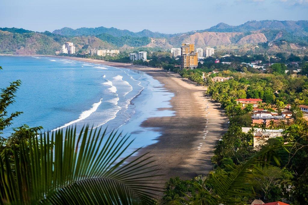 View of Jacó Beach from El Miro
