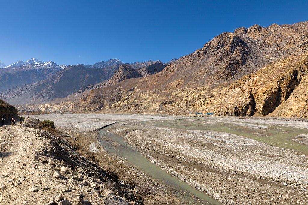 Kali Gandaki river near Jomsom