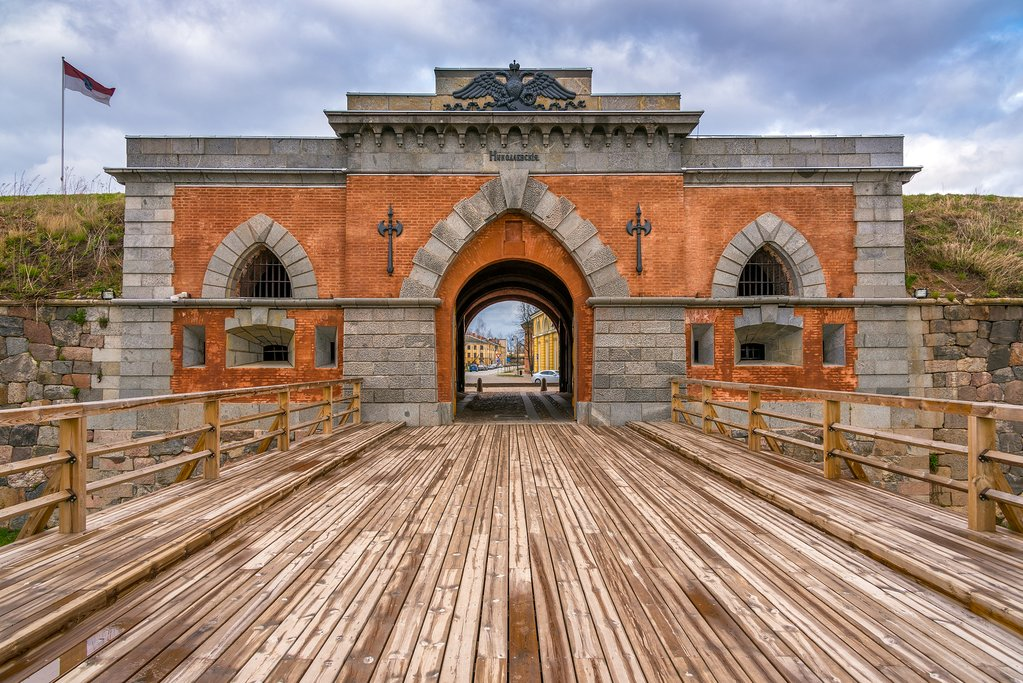 Entrance to Daugavpils Fortress