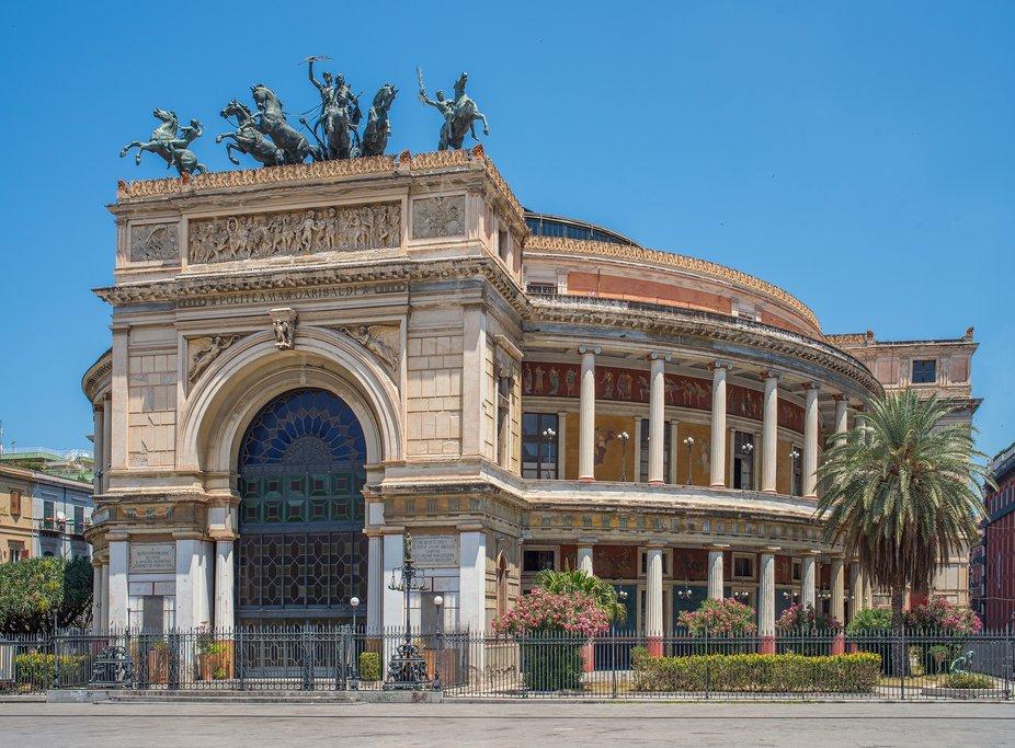 Politeama Garibaldi Theatre, Palermo