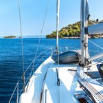 Sailing in the Adriatic