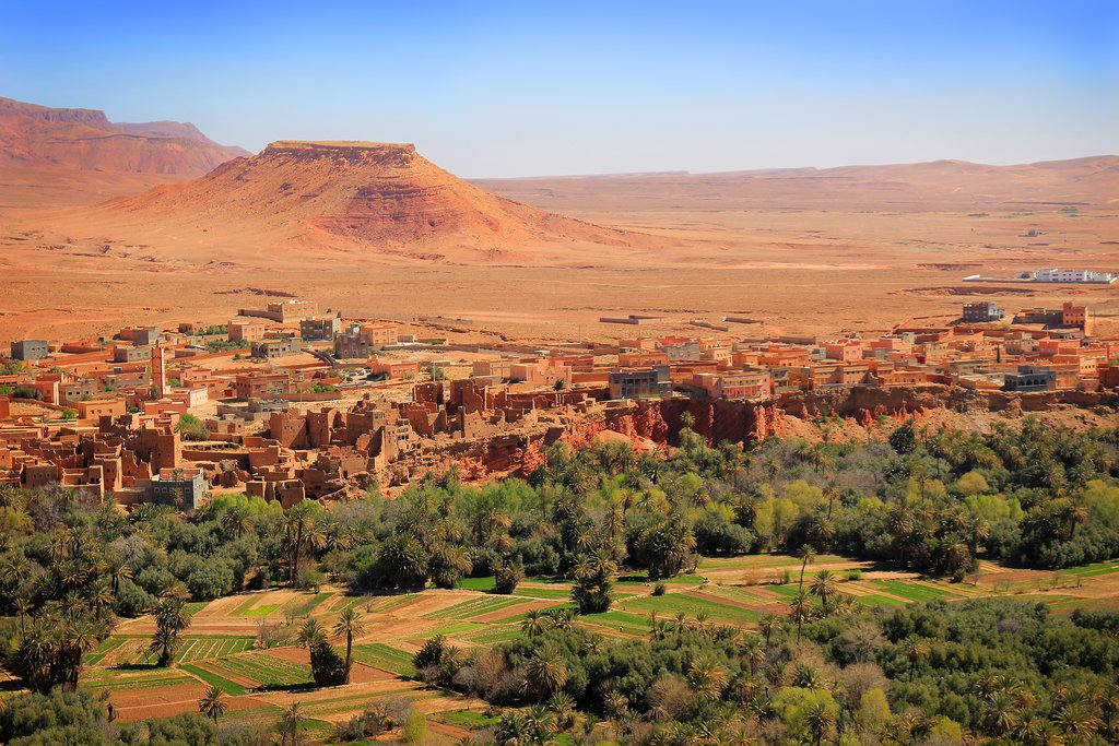 Tinerhir and the Todra Valley, Morocco