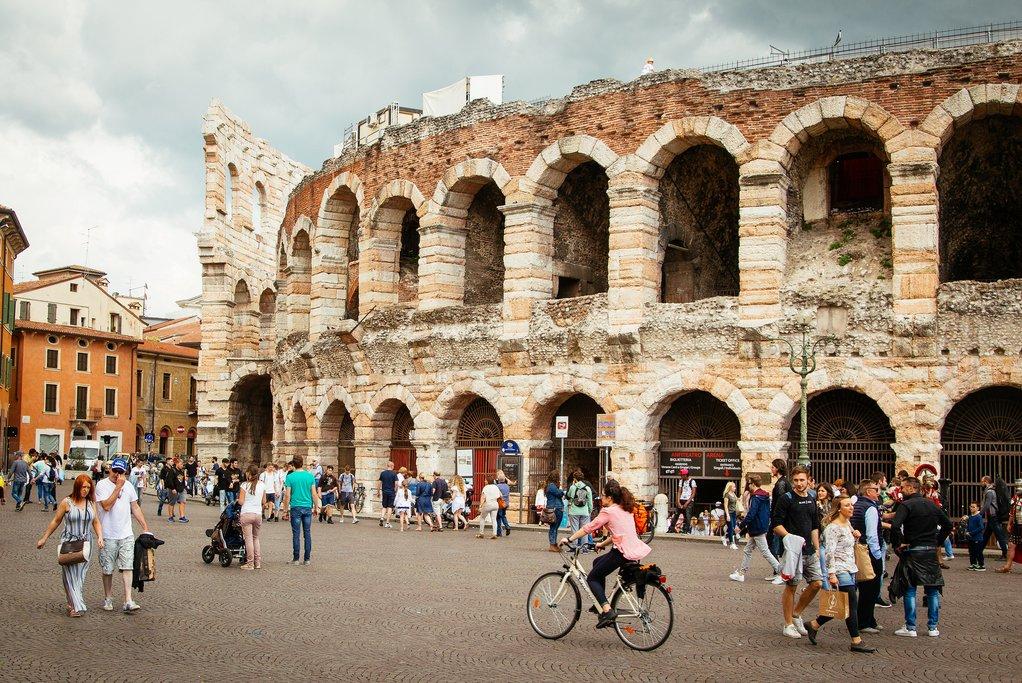 Explore Verona and its Roman Arena