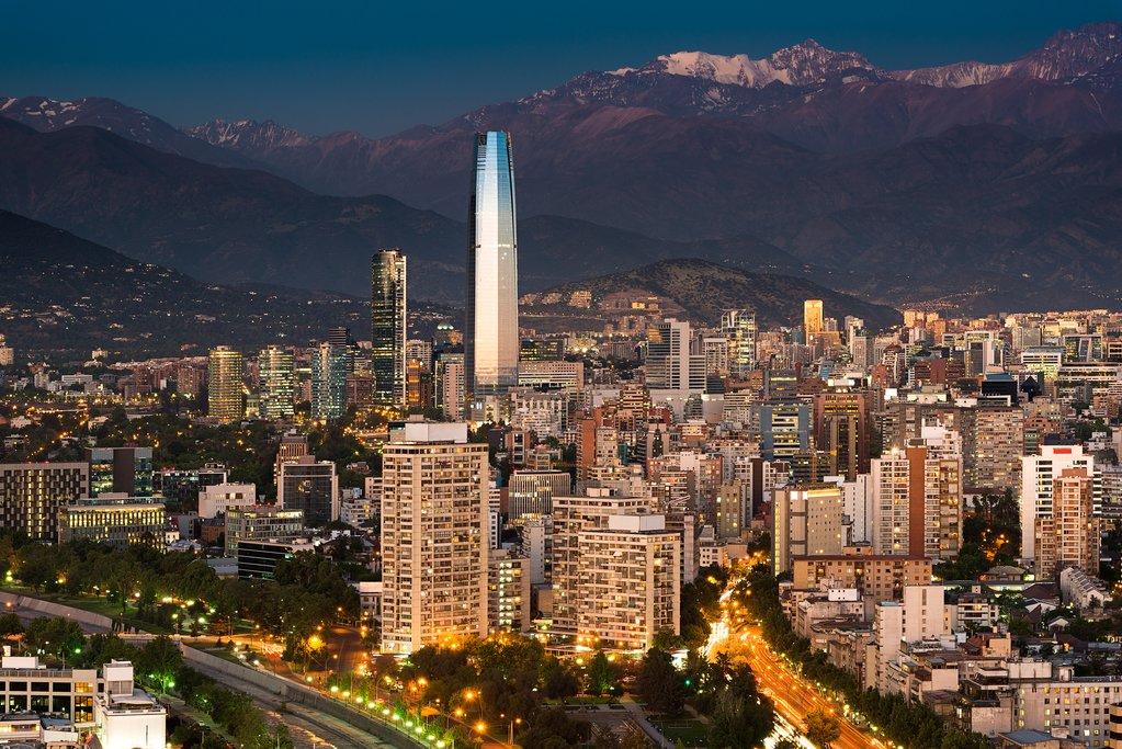Santiago de Chile view