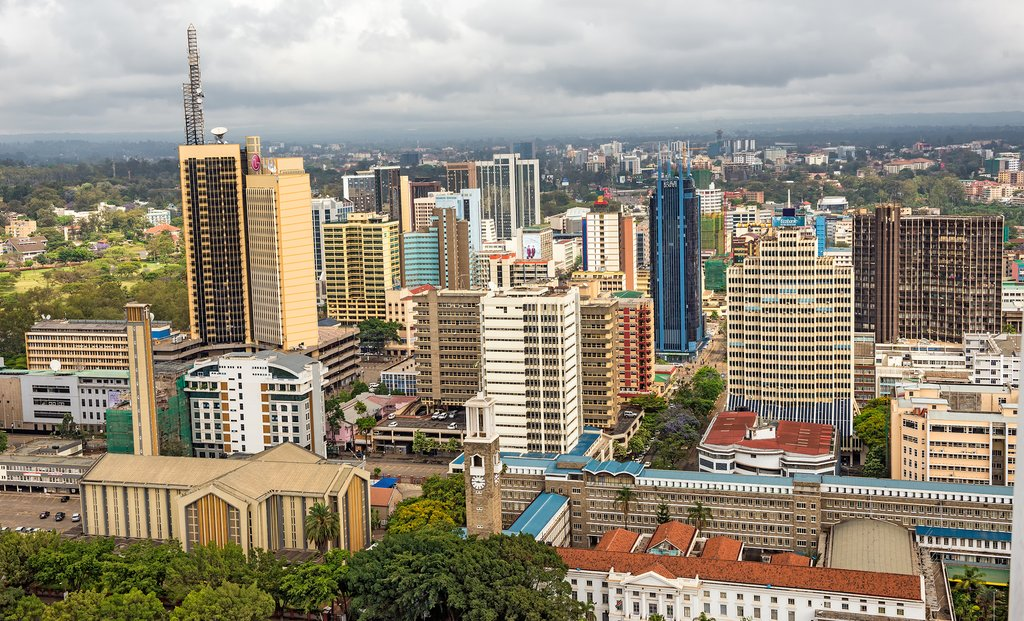 Central Business District of Nairobi