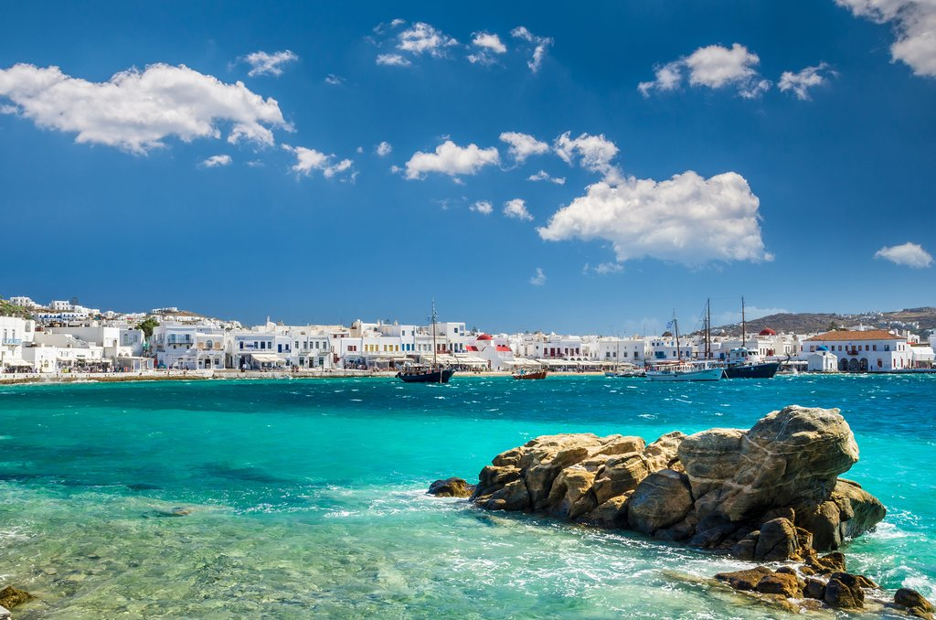 Summer in Mykonos, Greece
