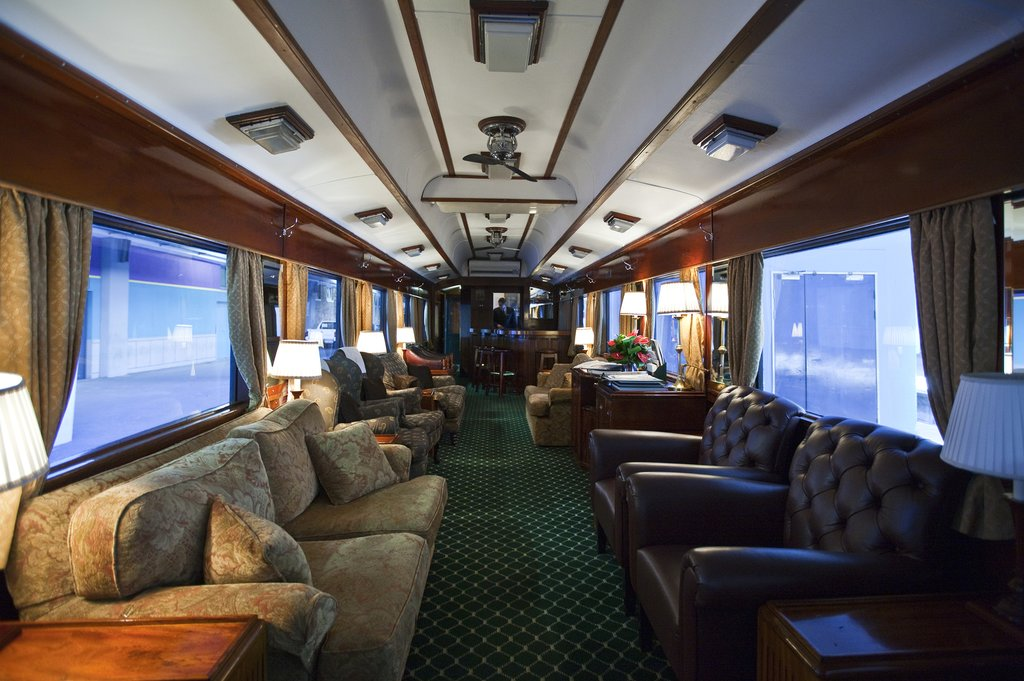 The Lounge Car on Rovos Rail