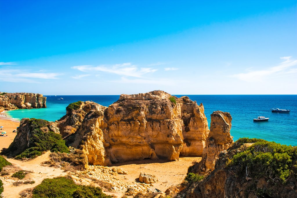 Praia do Castelo, Albufeira, Algarve