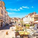 Quiet day in Aix