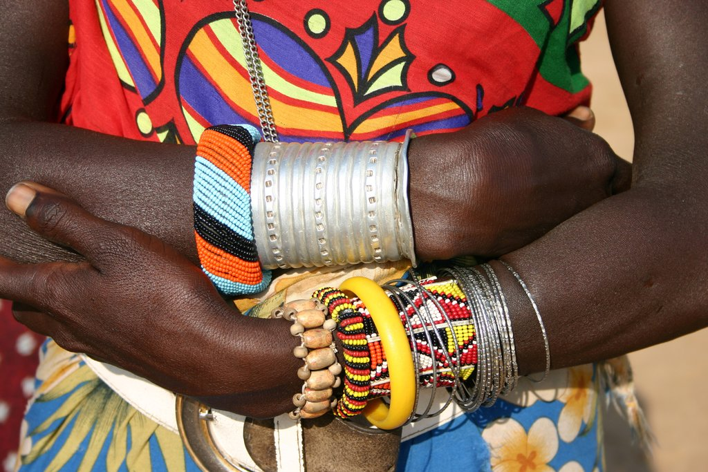 A sample of Shanga's exquisite handmade jewelry