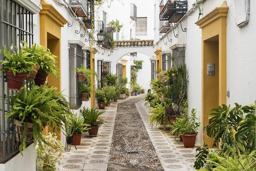 A street in the Jewish Quarter of Córdoba