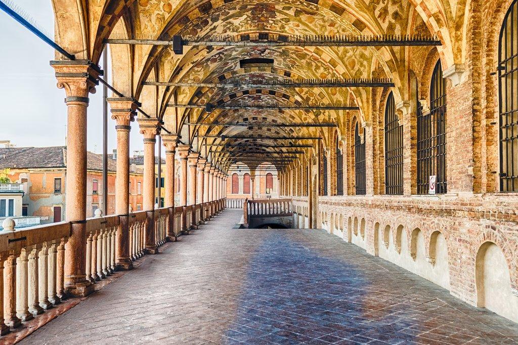 Loggia in the Piazza delle Erbe, Padua