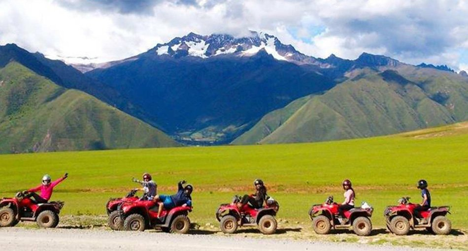 Quad biking in the shadow of the mighty Andes