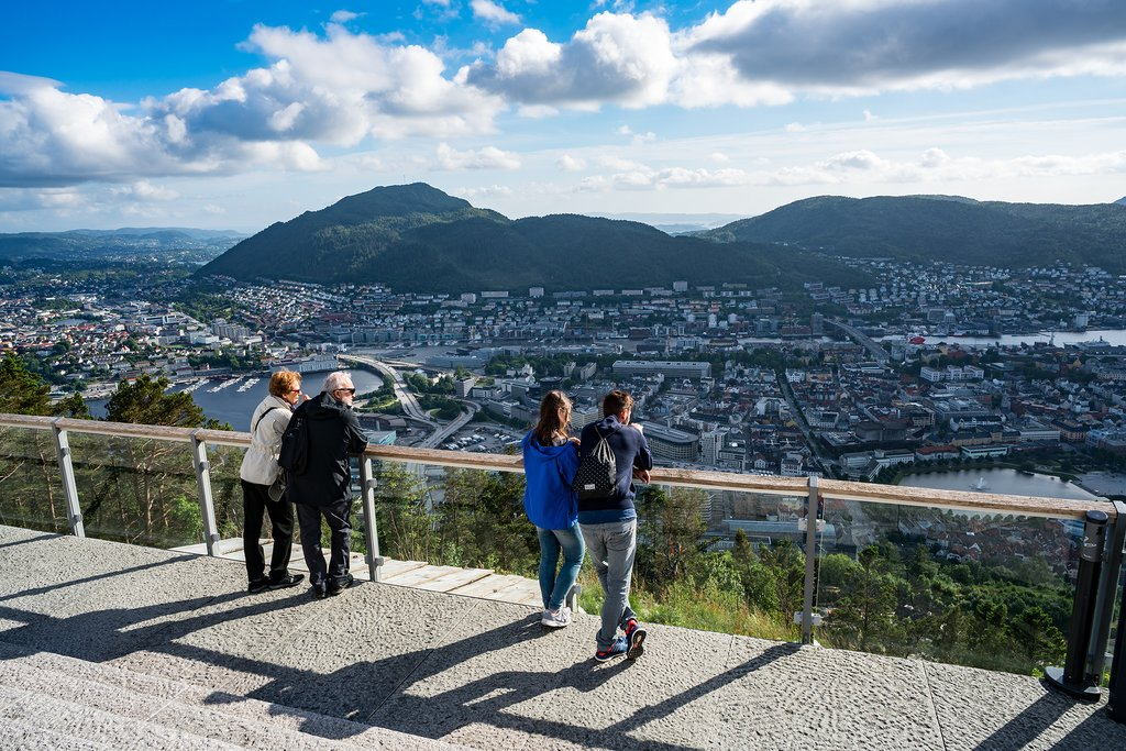 Views of Bergen from above