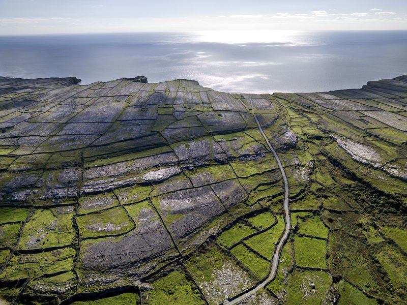 The windswept landscape of Inis Mór.