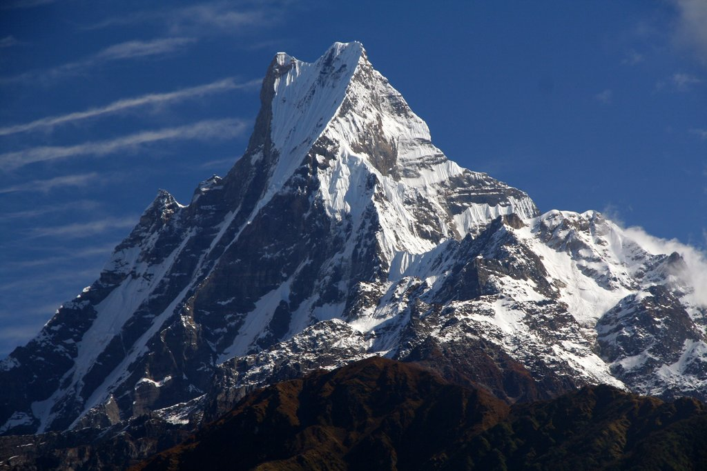 Enjoy stunning views of the Himalaya along your route
