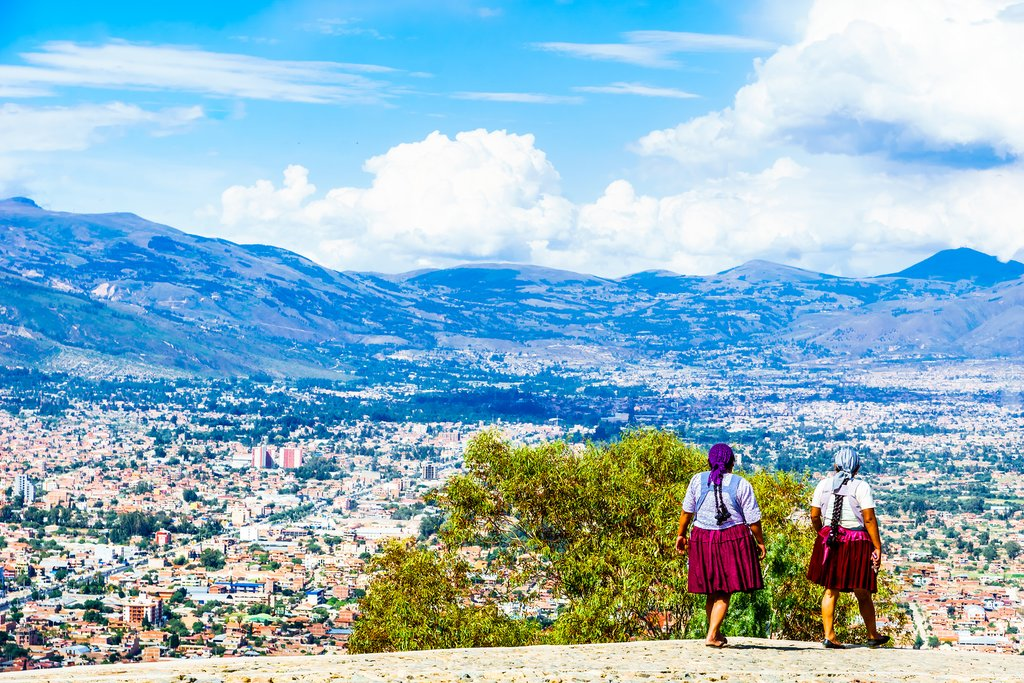 View over Cochabamba