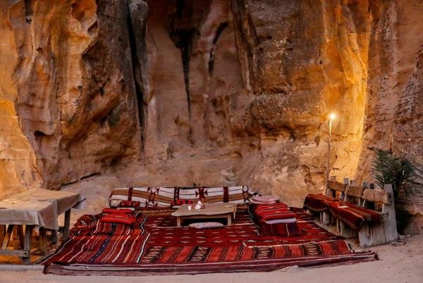 Enjoy an evening at the Ammarin Bedouin Camp